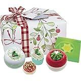 Bomb Cosmetics Handmade Gift Pack, Christmas Wishes