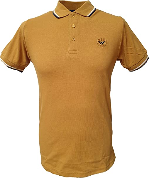Warrior England UK - Polo de piqué para Hombre, Color Mostaza y ...