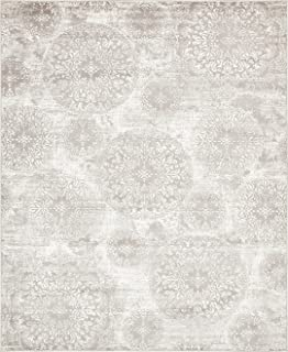 Amazon.com : A2Z Rug Modern Light Gray 8' x 10' FT Fancy Collection on
