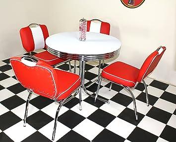 Just-Americana.com American Retro 50s Diner Möbel Budget Retro Stil ...