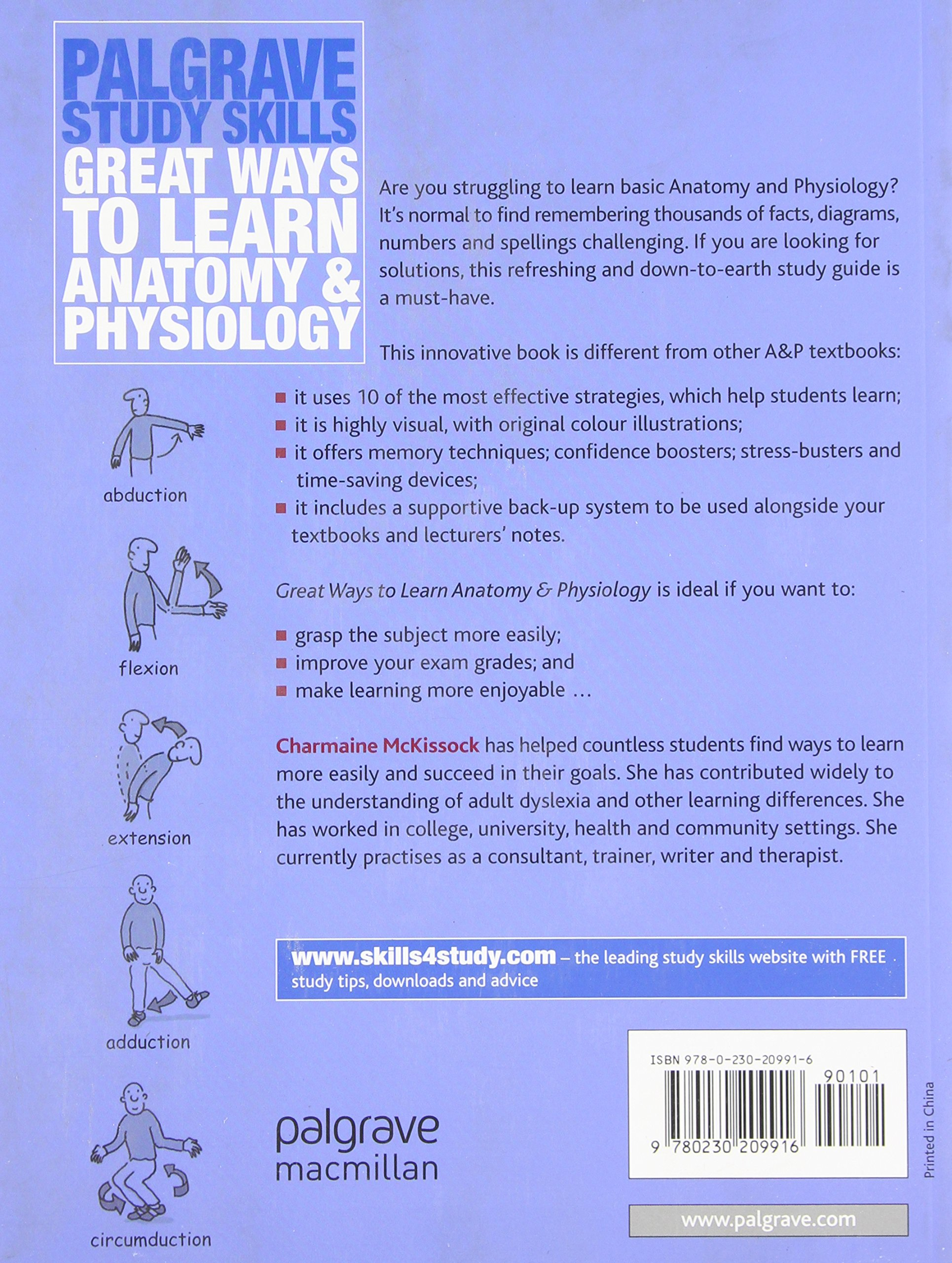 Great Ways to Learn Anatomy and Physiology (Palgrave Study Skills ...