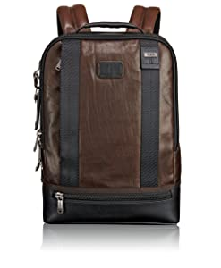 Tumi Alpha Bravo Dover Leather Backpack
