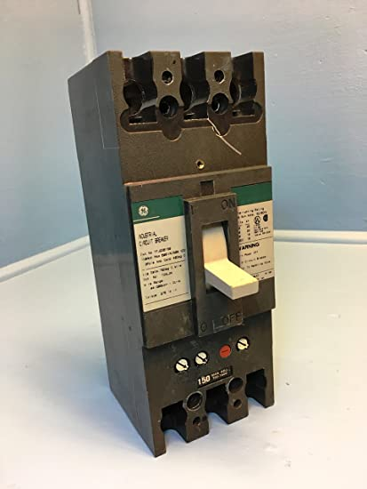GE TFJ236150 150-Amp 3-Pole 600-Volt Circuit Breaker 150A 3P 600V