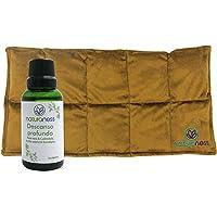 Naturaness Cojín Compresa Caliente Ortopédica para molestias musculares o lumbares varios colores (PAQUETE 1)