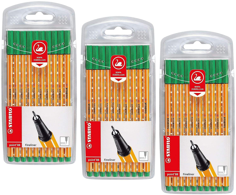 40 Farben STABILO point 88-40er Pack Fineliner