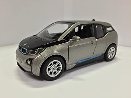 Amazon Com 1 32 Scale Bmw I3 Electric Car Model Andesite Silver