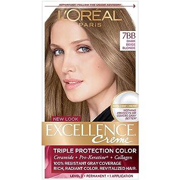 Amazon Com L Oreal Paris Excellence Creme Permanent Hair Color