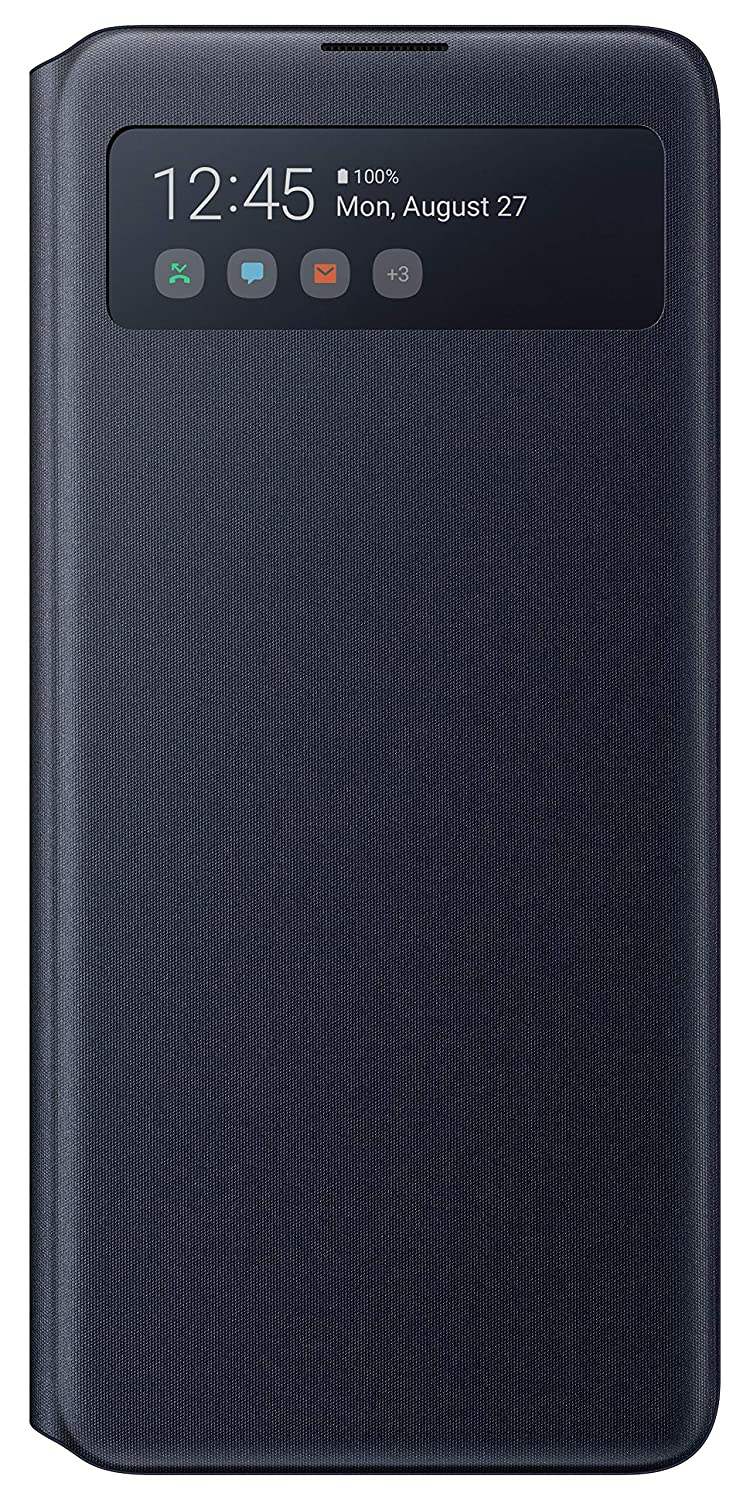 Galaxy Note10 Lite S View Wallet Cover, Black