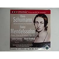 Clara Schumann: Konzertsatz in F minor / Fanny Mendelssohn: Piano Trio in D minor, Op. 11 / Louise Farrenc: Clarinet Trio in E-flat, Op. 44 / Marie Grandval: Deux pieces