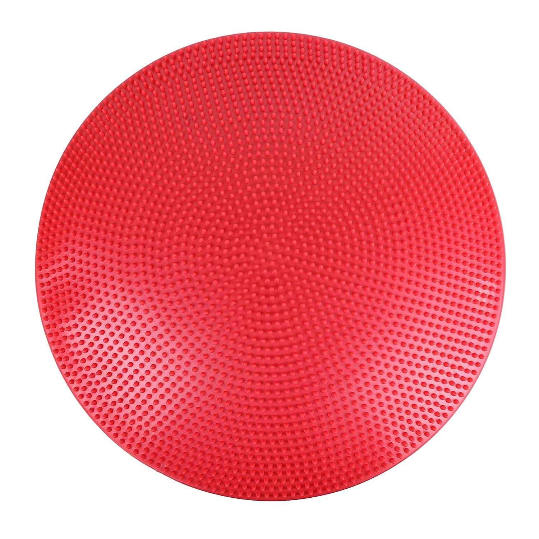 CanDo Inflatable Vestibular Balance Disc, 23.6 diameter, Red 23.6 diameter 30-1868R