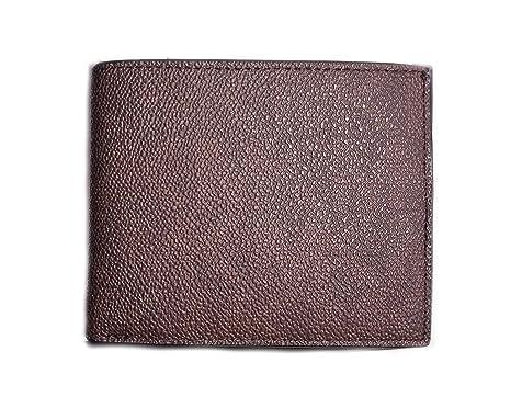 Michael Kors Mens MK Logo Wallet Passcase Brown: Amazon.es ...