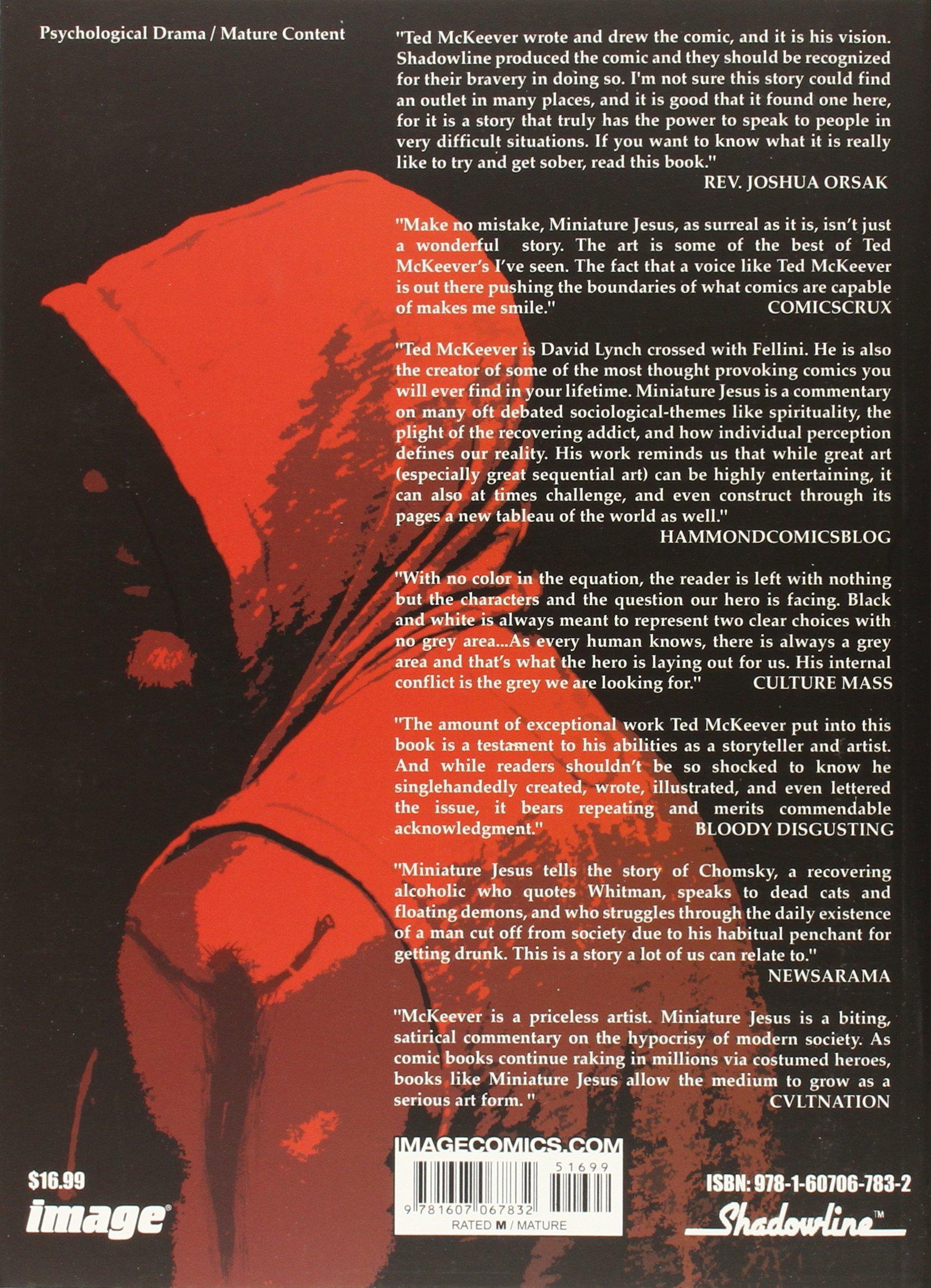 Amazon MINIATURE JESUS TP 9781607067832 Ted McKeever Books