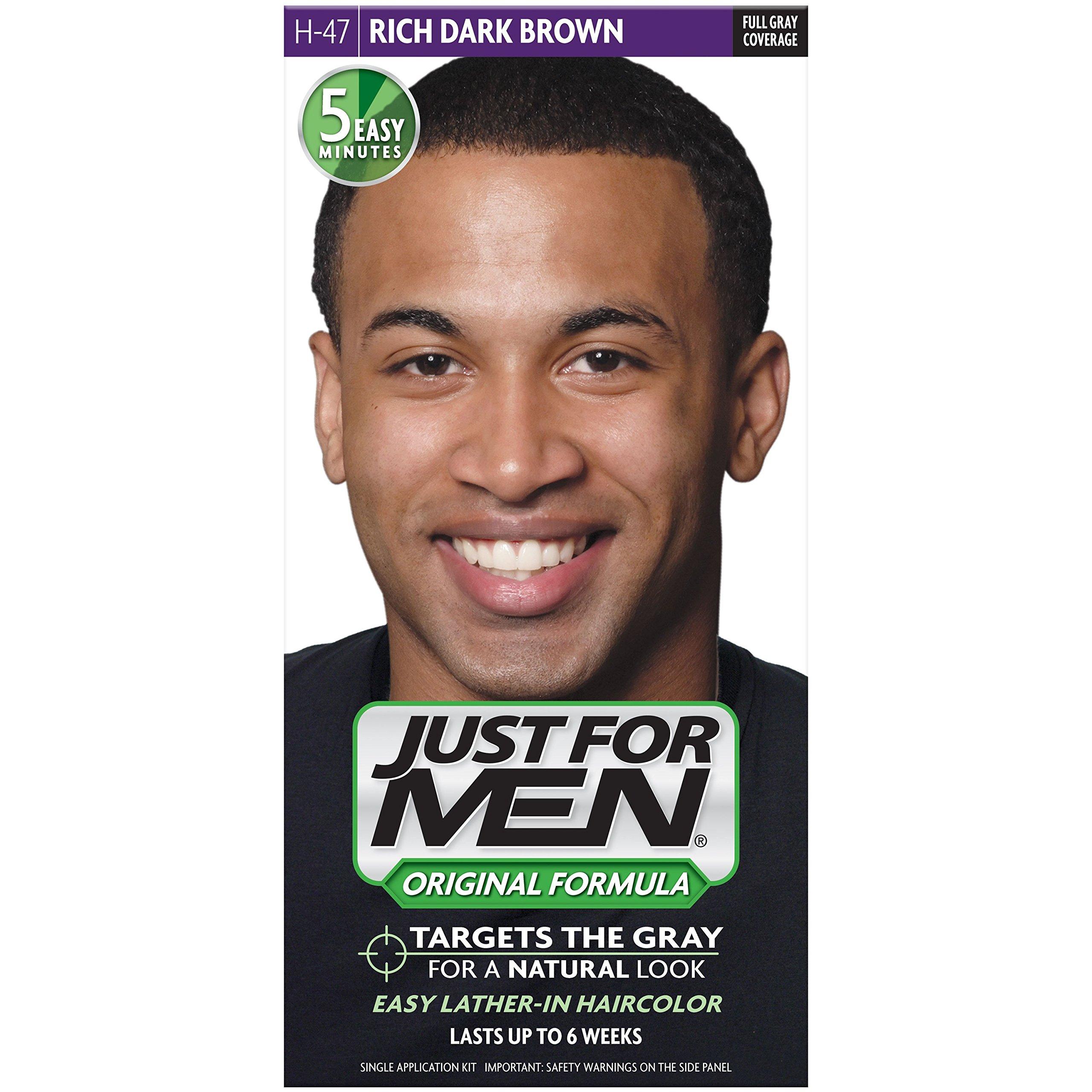 Just For Men Original Formula Men's Hair Color, Rich Dark Brown, (Pack of 12) by Just for Men (Image #2)