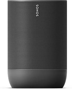 Sonos Move - Smart Portable Wi-Fi and Bluetooth Speaker with Alexa Built In