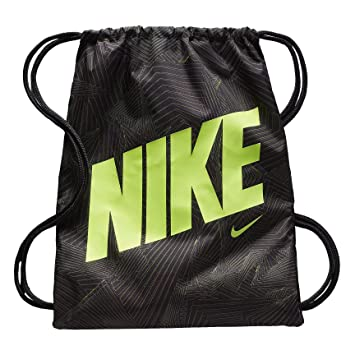 363d4aeed Nike Graphic Gym Sack (One Size, Black (BA5262-017) / Black