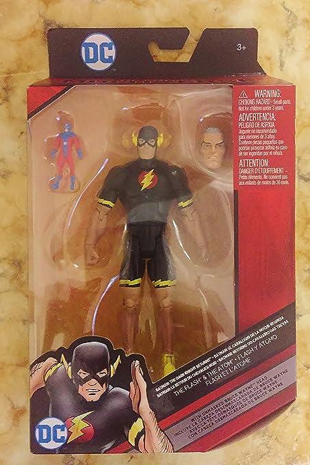 DC Comics Multiverse The Flash /& Atom Bruce Wayne Head Action Figure FFF26