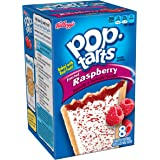 Pop-Tarts, Frosted Raspberry, 8-Count Tarts, 14.7 ounces (Pack of 12)