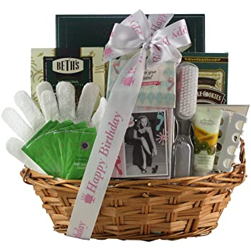 GreatArrivals Gift Baskets Hands And Feet Specialty Spa Bathand Body Birthday Basket 4