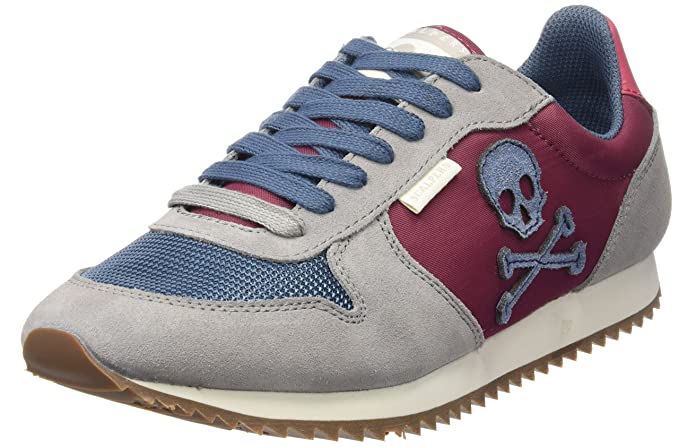 Scalpers Colorful Insignia 02, Sneakers para Hombre, Grey, 40: Amazon.es: Ropa y accesorios