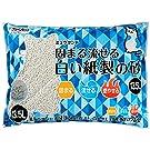 クリーンミャウ クリーンミュウ ミュウサンド 固まる流せる白い紙製の砂 13.5L