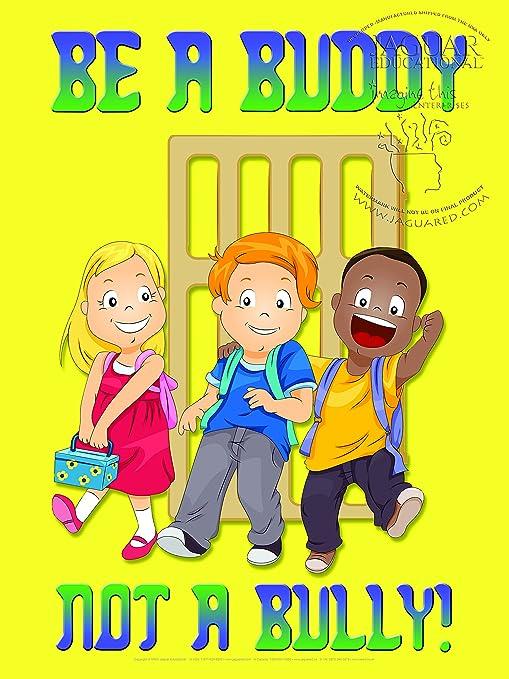 Amazon.com: Ser un Buddy Póster laminado para Educación ...