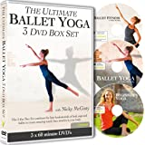The Ultimate BALLET YOGA 3 DVD Box Set with Nicky McGinty