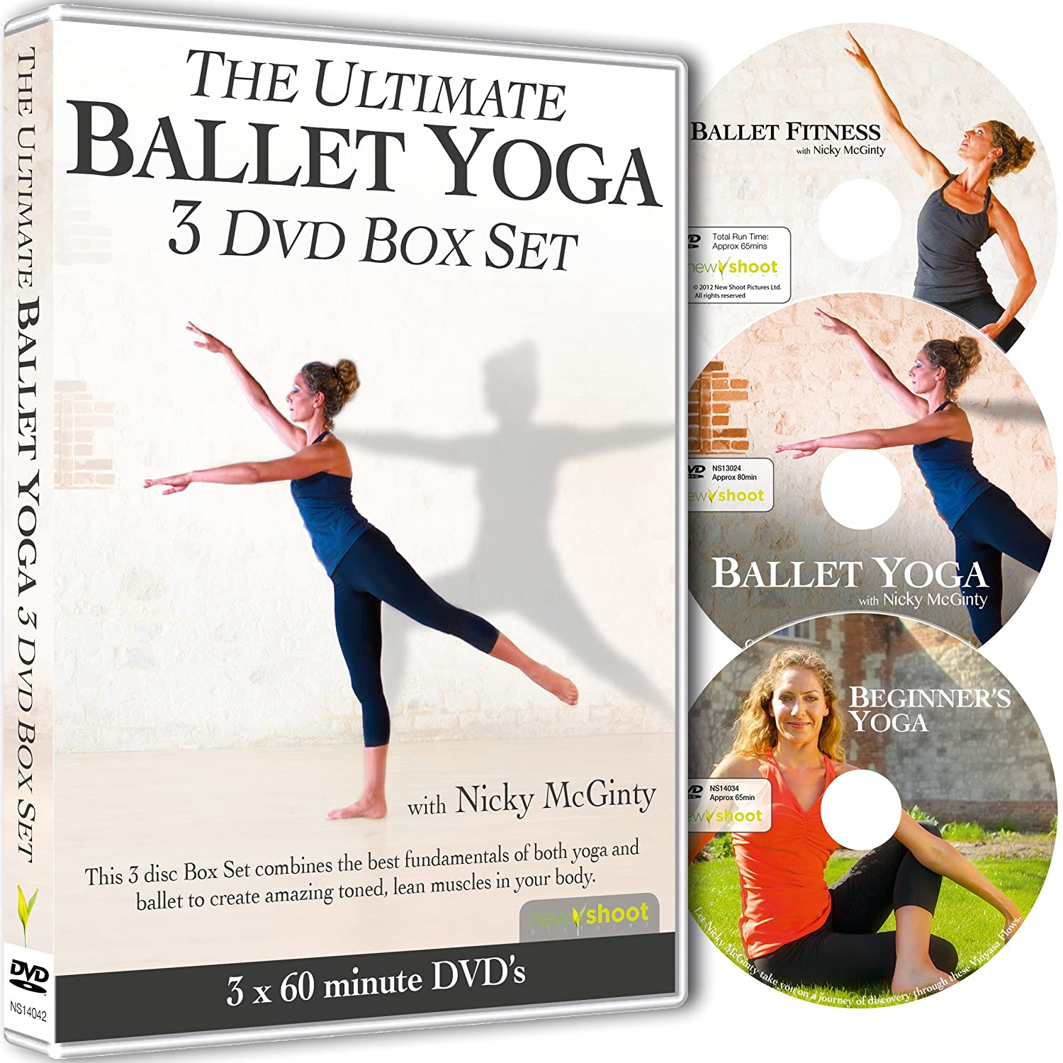 The Ultimate BALLET YOGA 3 DVD Box Set with Nicky McGinty ...