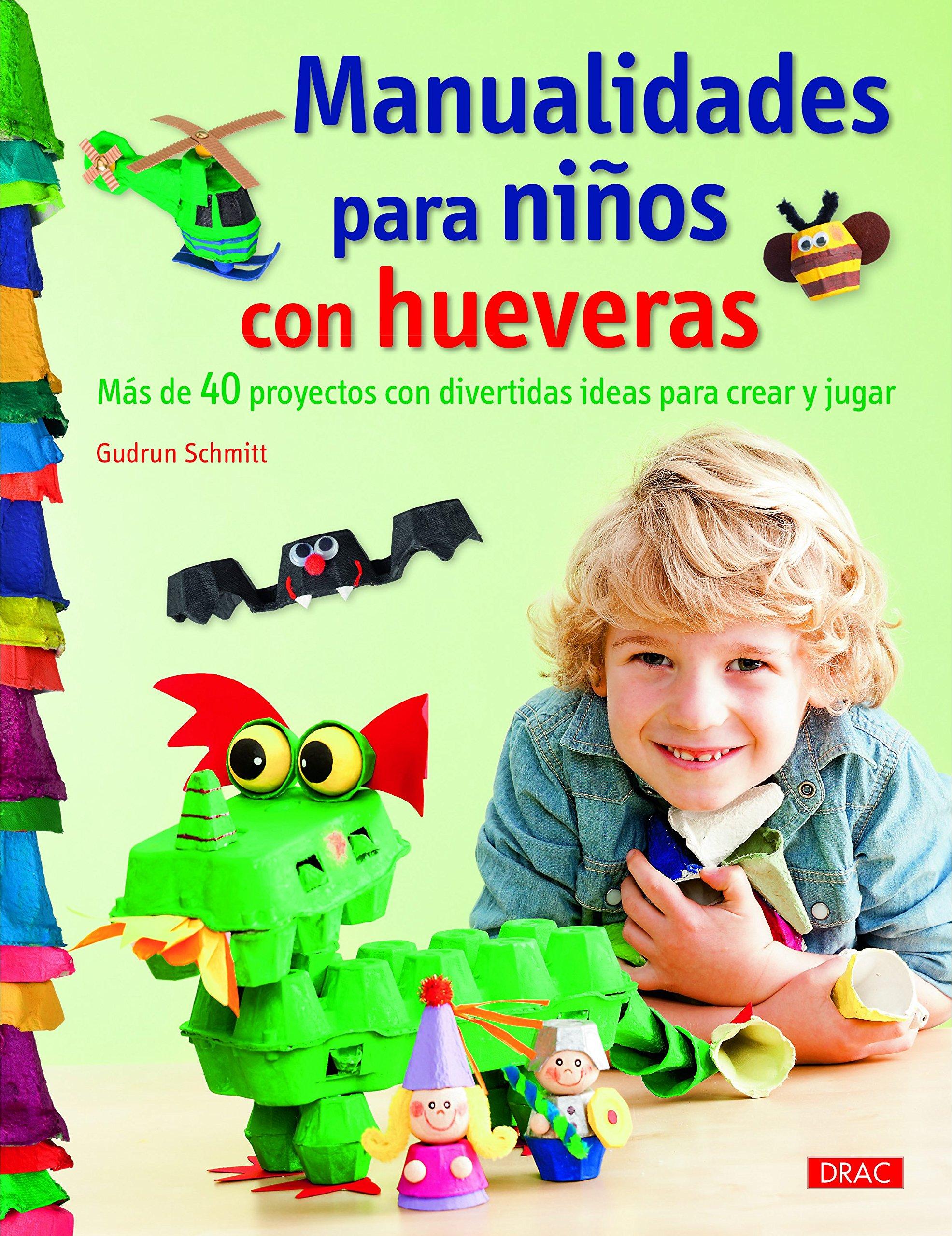 Manualidades para niños con hueveras: SCHMITT: 9788498745214: Amazon.com: Books