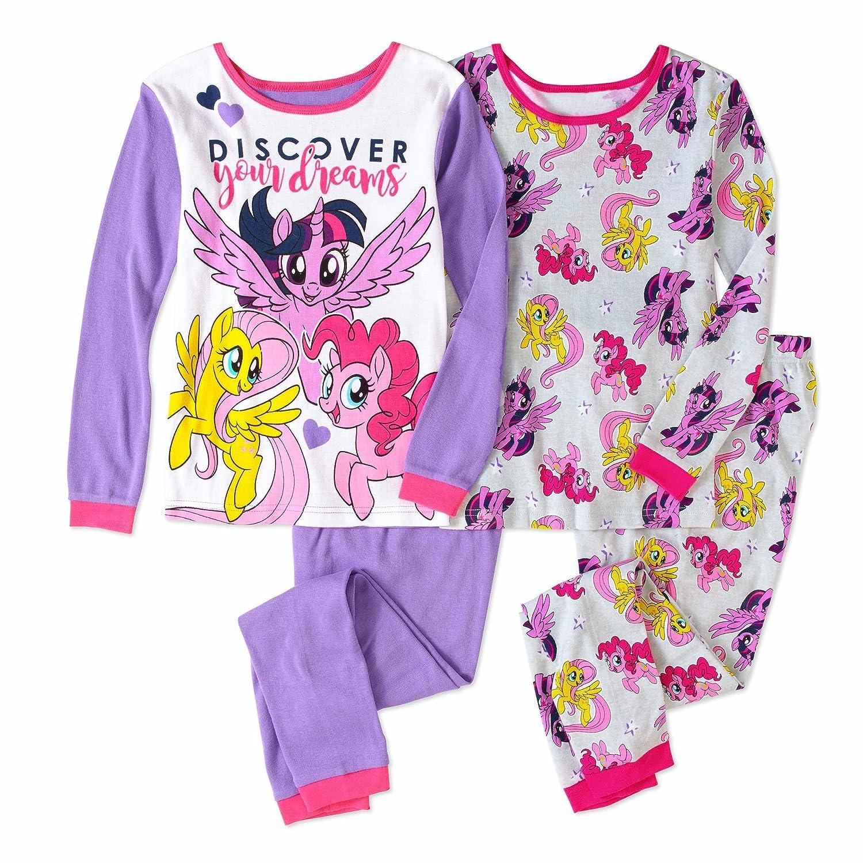 My Little Pony The Movie Girls 4-Piece Cotton Pajama Set