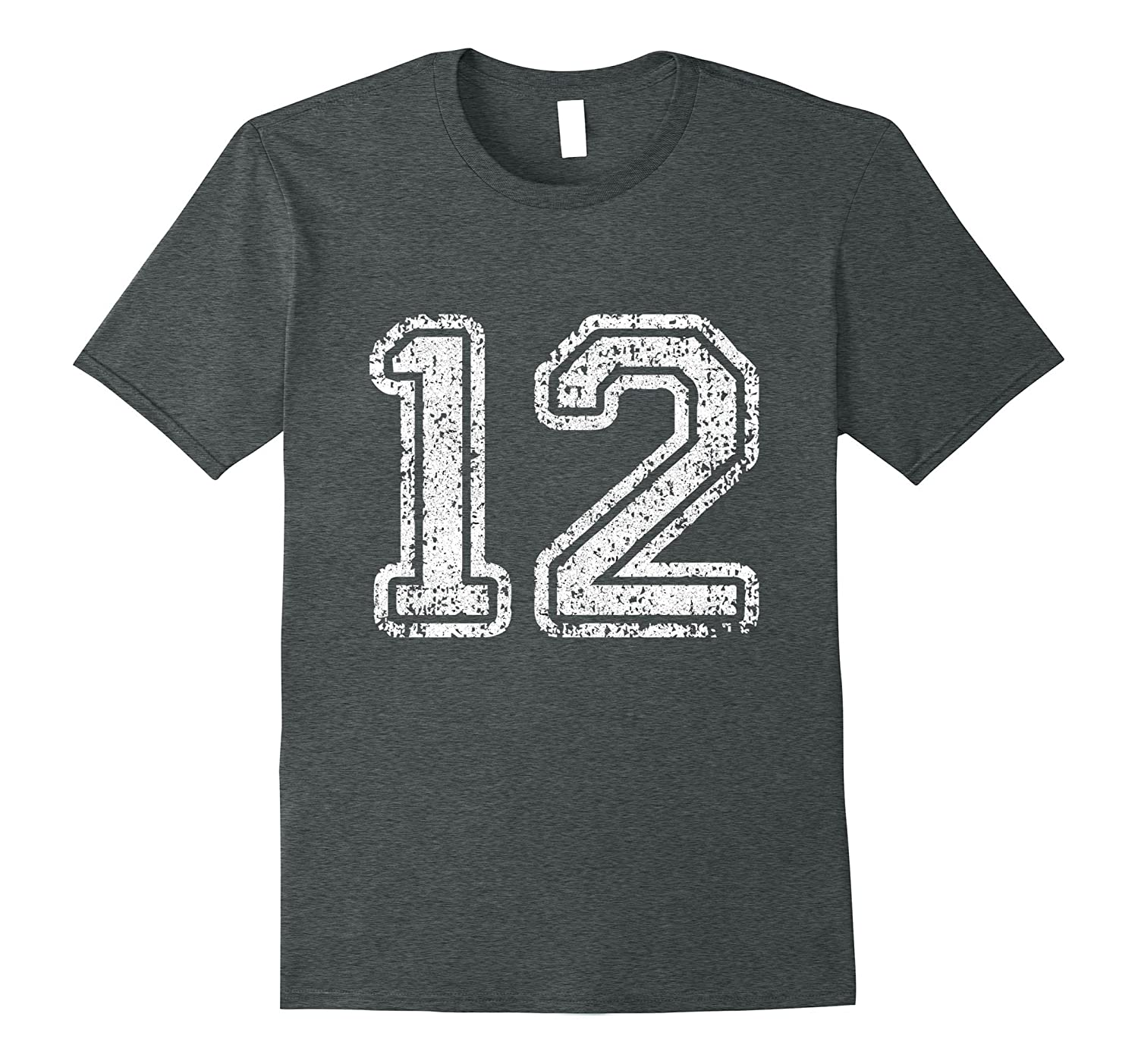 Jersey Number 12 Twelve T-shirt Football Number Sports | MultiMv ...