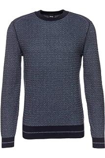 032281935 BOSS TOP Hoodie Zip Through with Embroidery Logo 50387166 Saggy · £164.52 -  £186.68 · BOSS Men's Jumper