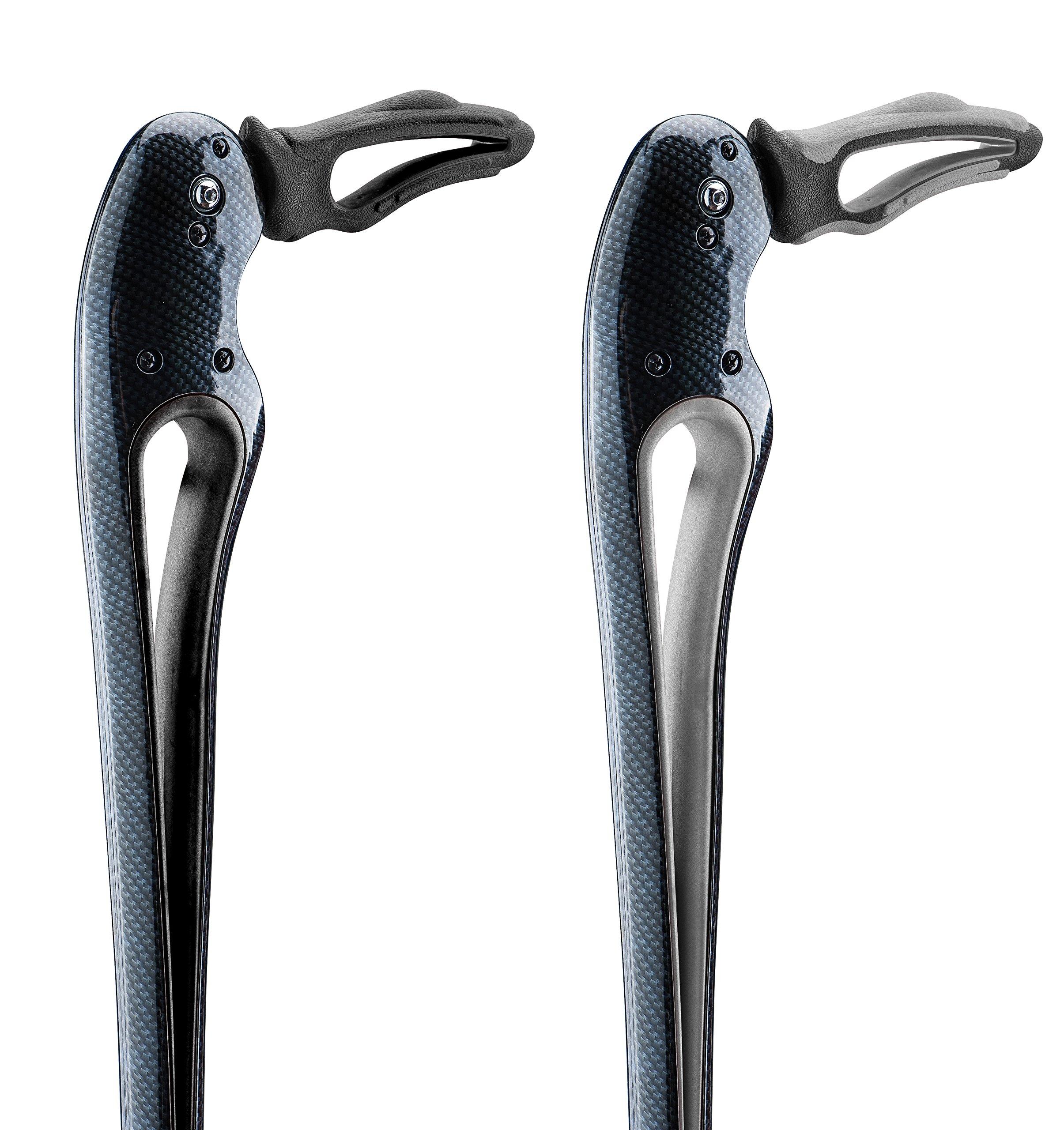 Tucane® Advanced Walking Stick- ''Your Third Hip'' (Small 4'8'' to 5'3'') (Black/Black)