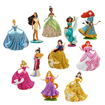 Disney Princess Deluxe Figure Play Set - ''Happily Ever After'': Toys & Games
