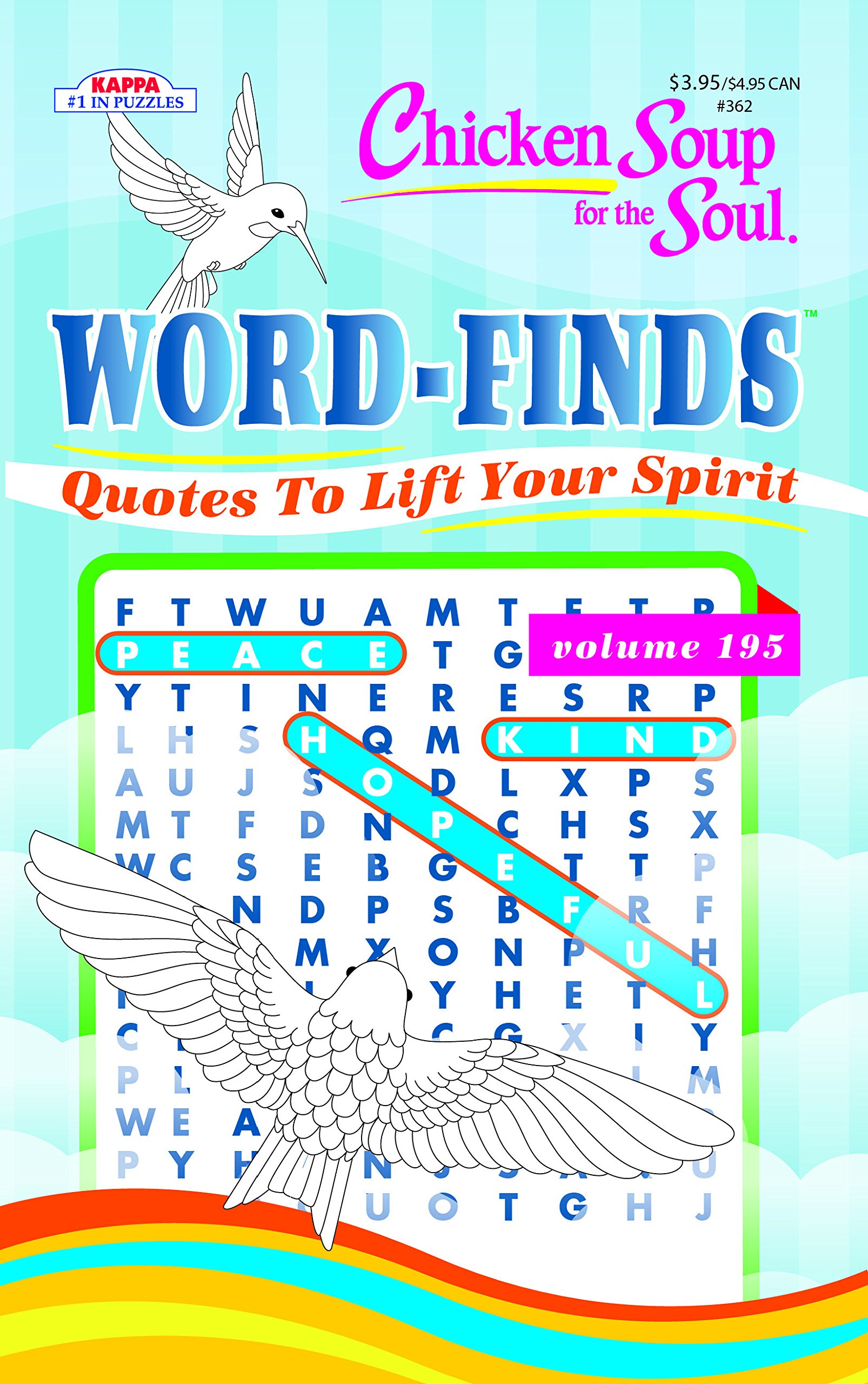 Chicken Soup For The Soul Word Find Puzzle Book Word Search Volume