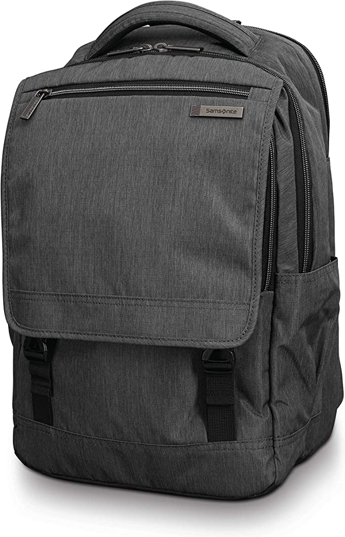 Samsonite Modern Utility Paracycle Laptop Backpack, Charcoal Heather, One Size   Amazon