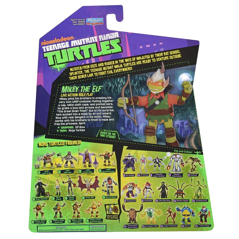 Teenage Mutant Ninja Turtles Michelangelo Elf Live Action ...