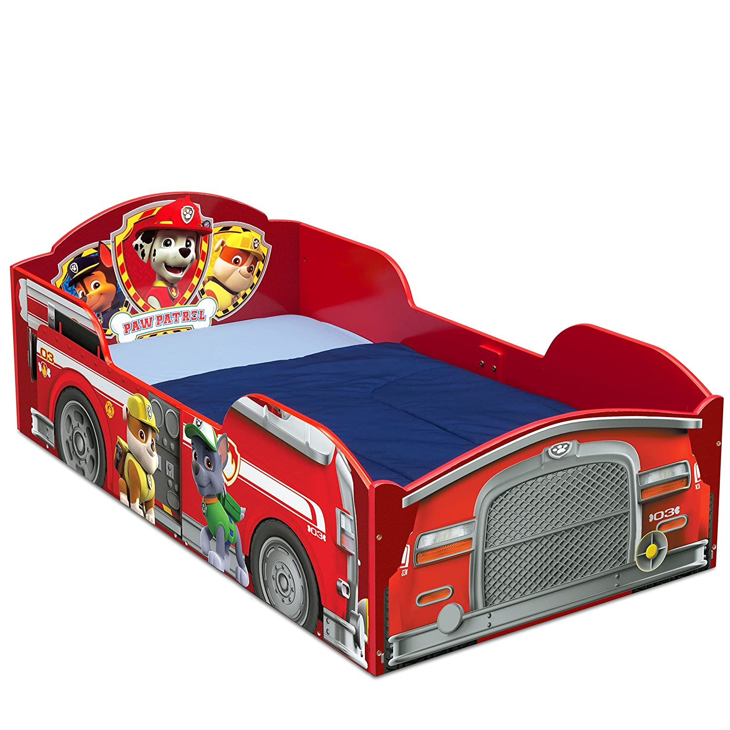 Amazon Delta Children Wood Toddler Bed Nick Jr PAW Patrol Baby