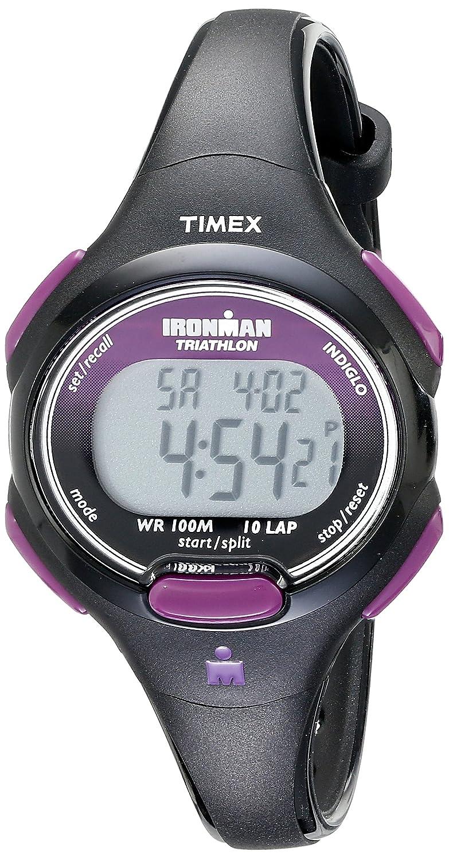Timex T5K523SU - Reloj digital de mujer de cuarzo con correa negra: Timex: Amazon.es: Relojes