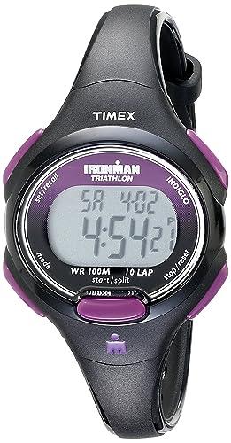 ae35e7ea25fc Timex T5K523SU - Reloj digital de mujer de cuarzo con correa negra  Timex   Amazon.es  Relojes