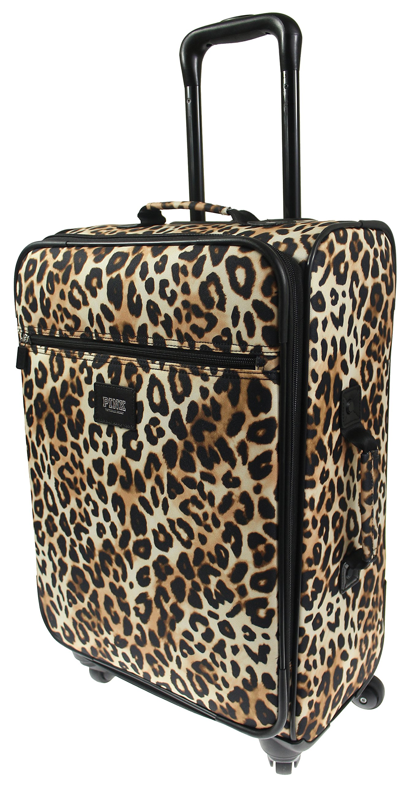 Victoria's Secret PINK Travel Carry-On VACAY READY Wheelie Suitcase - Leopard