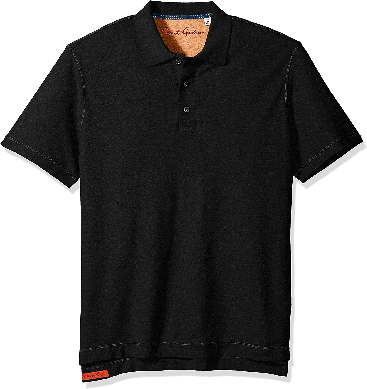 No No Size Robert Graham Mens MESSENGERBLK BLACK