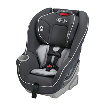 Amazon.com : Graco Contender 65 Convertible Car Seat, Glacier, One ...