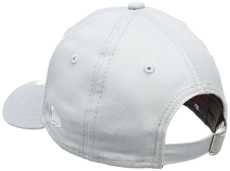 New Era MLB Basic NY Yankees 9Forty - Cappellino regolabile per Bambino  (Youth) Grigio (Grey) 10879075 9dfe43b29c69