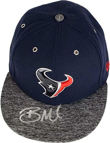 Image Unavailable. Image not available for. Color  Braxton Miller Houston  Texans Autographed New Era 2016 Draft Day Cap ... 1f304095b63