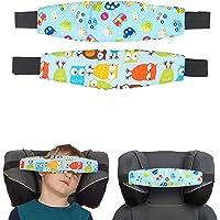 Wsparcie głowy dziecka na fotelik samochodowy, 2-pak niebieskie wzornictwo dla chłopców, wsparcie głowy dziecka do…