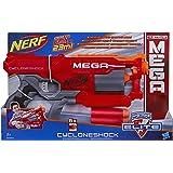Hasbro Nerf A9353EU4 - N-Strike Elite MEGA Cyclone Shock, Spielzeugblaster