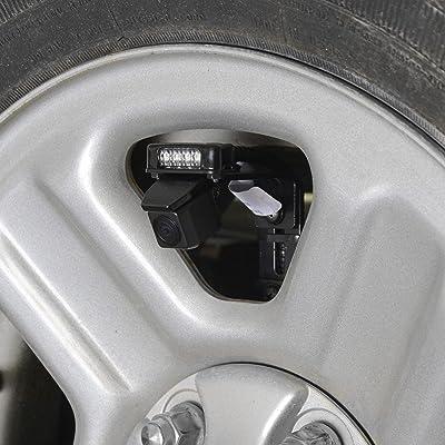 Brandmotion 9002-8894 LED Third Brake Light Add-On for Adjustable Mount Cameras on 2007-2020 Jeep Wrangler JK: Automotive