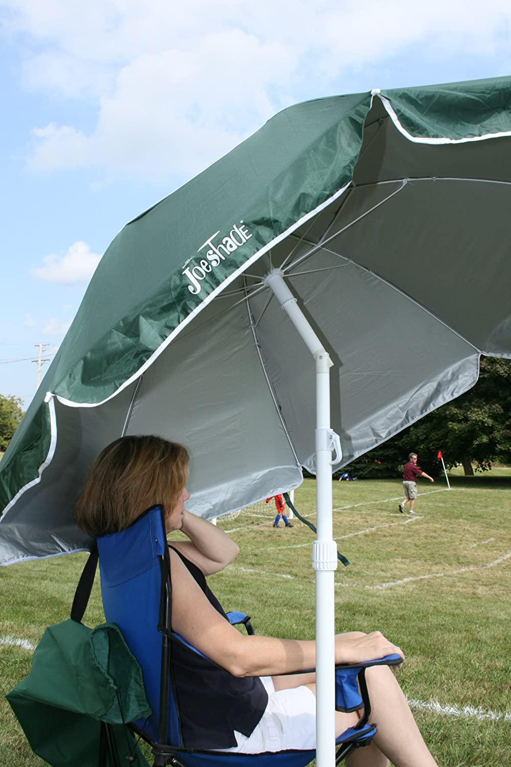 Amazon.com JoeShade Portable Sun Shade Umbrella Sunshade Umbrella Sports Umbrella BLUE Garden u0026 Outdoor & Amazon.com: JoeShade Portable Sun Shade Umbrella Sunshade ...