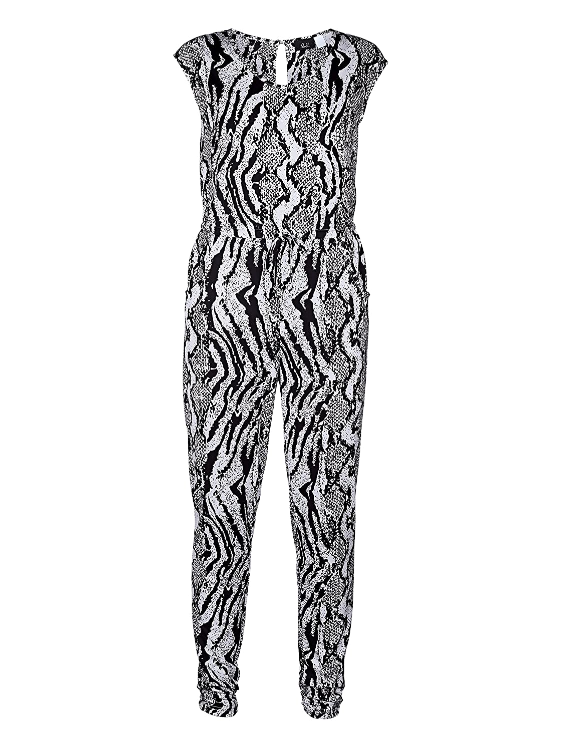 Damen Overall mit Animalprint by Paola