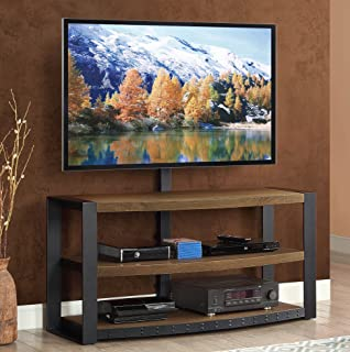 Whalen Furniture Santa Fe 3-in-1 TV Stand & Amazon.com: Whalen Furniture Santa Fe Storage Shelf and Audio Tower ...